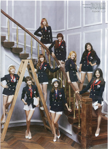 Im yoonA fond d'écran entitled SNSD @ High Cut