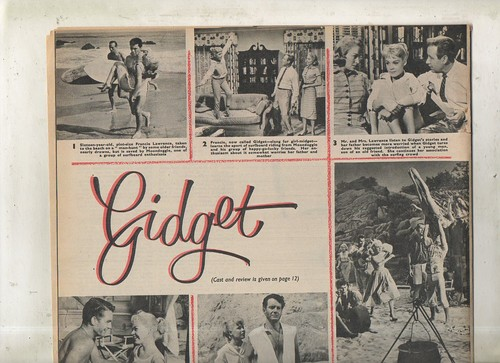 Sandra Dee Gidget Picture Show UK