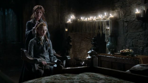 Sansa and Catelyn