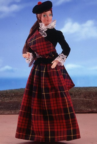 Scottish Barbie® Doll 1st Edition 1981