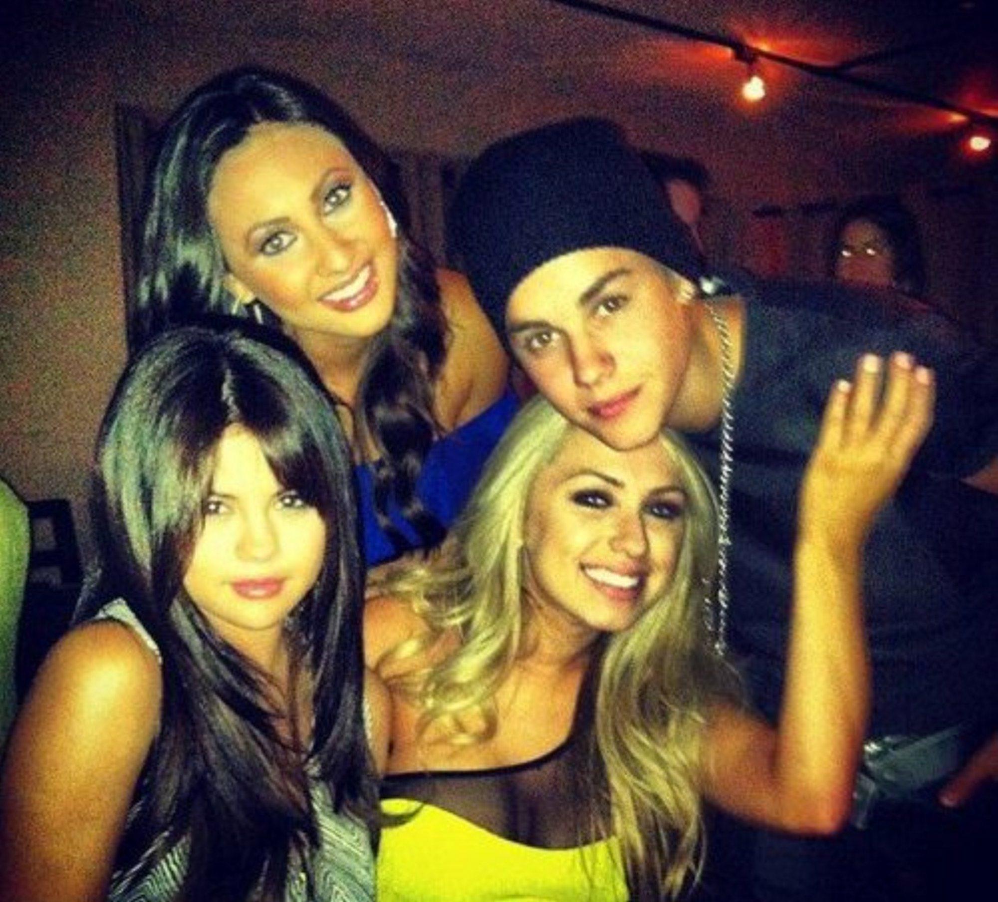 Selena & Justin France Birthday Party