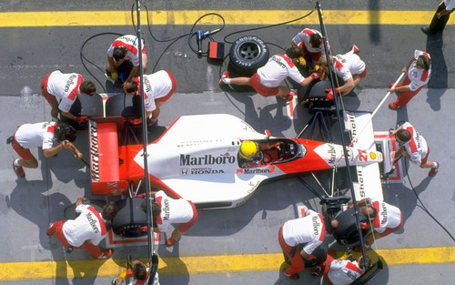 Senna Hungary 1990