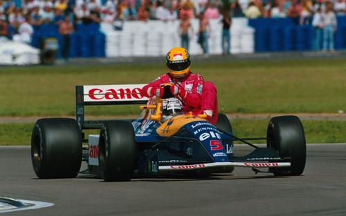 Senna & Mansell Silverstone