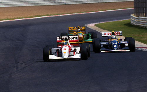 Senna,Prost & Schumacher