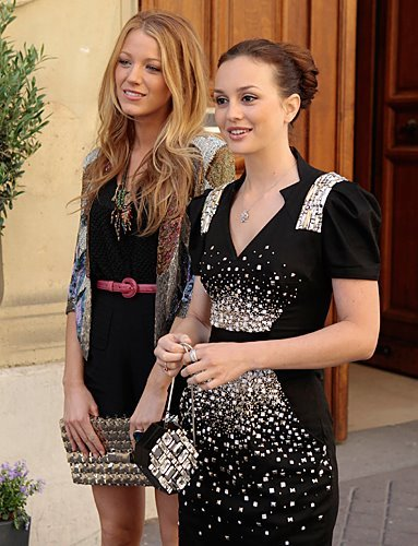 Gossip Girl wallpaper titled Serena & Blair