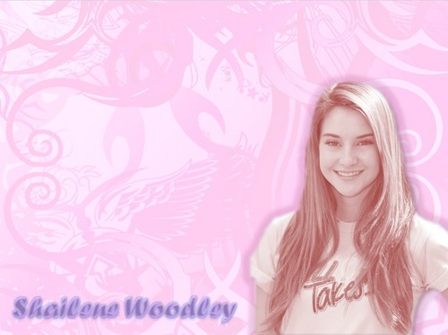 The Secret Life of The American Teenager kertas dinding containing a portrait titled Shailene Woodley kertas dinding HD