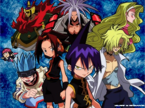 Shaman King karatasi la kupamba ukuta containing anime called Shaman King