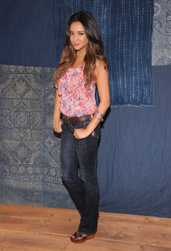 Shay at American Eagle Outfitters Live Your Life Campaign Launch (2012)