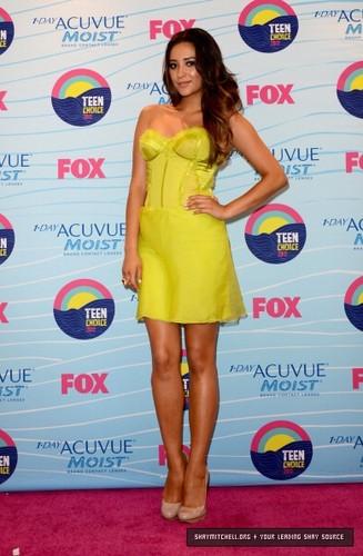 Shay at Teen Choice Awards 2012
