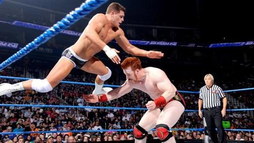 Sheamus vs Rhodes