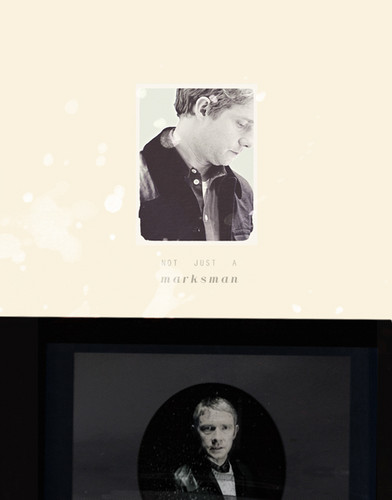 Sherlock in der BBC Hintergrund entitled John Watson