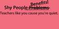 Shy People Benefits - shy-people photo