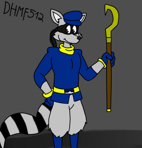 Sly Cooper Drawing sejak me