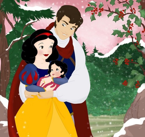 Snow White and Prince Ferdinand Family