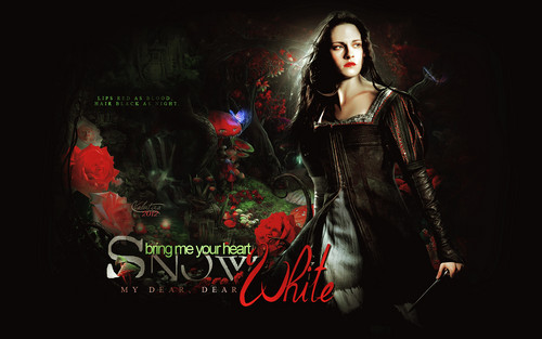 Snow White and The Huntsman fond d'écran with a concert titled Snow White