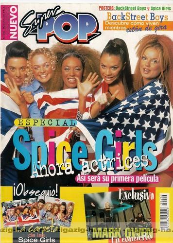 Spice Girls Magazine Covers