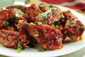 Spicy Sesame Buffalo Chicken Wings