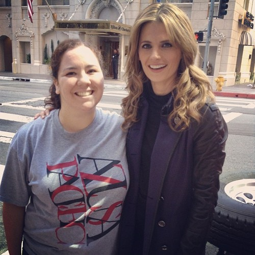 Stana Katic Sightings on the Set of lâu đài Season 5! (PHOTOS)