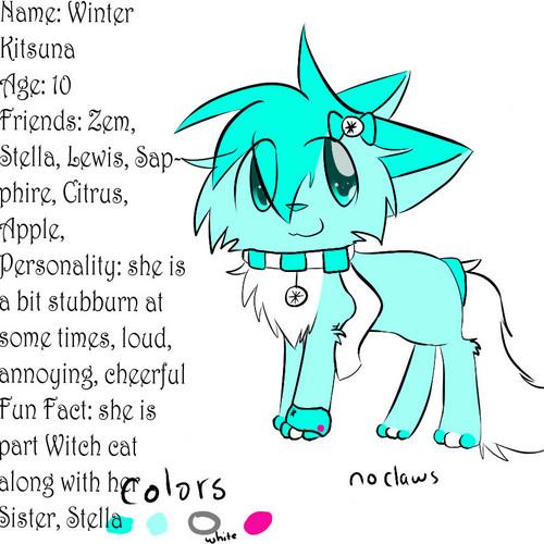 Stella's younger sister, Winter Kitsuna