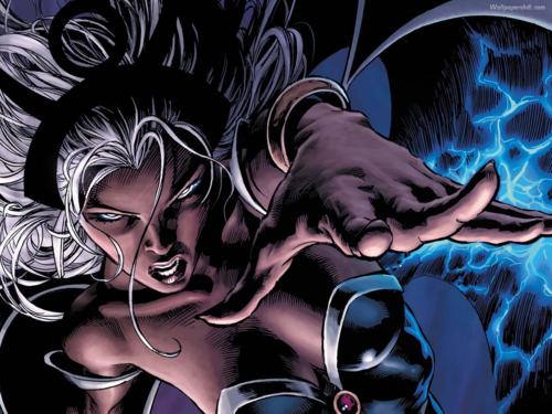 X-Men 壁纸 possibly containing 日本动漫 called Storm / Ororo Munroe 壁纸