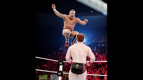 Street Fight!!!! Sheamus vs Bryan