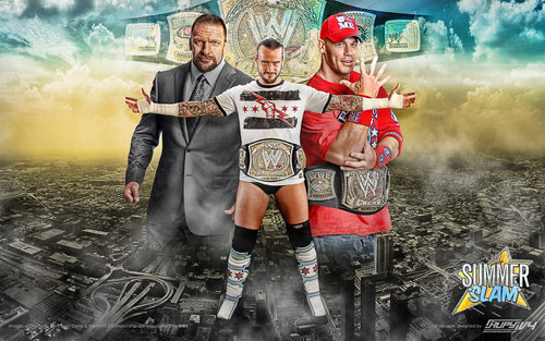 SummerSlam 2011 - wwe Wallpaper