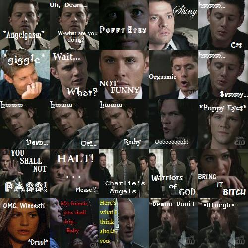 Supernatural icons - supernatural Photo
