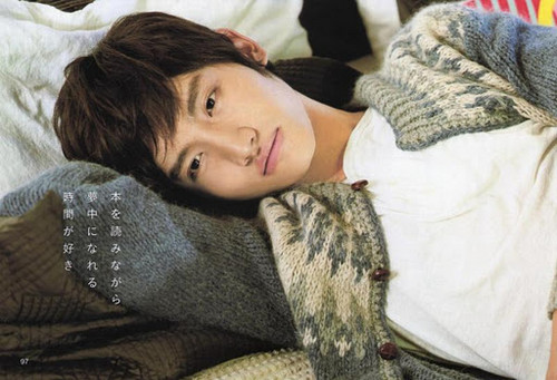Max Changmin wallpaper possibly containing a pelliccia cappotto titled Sweet Changmin