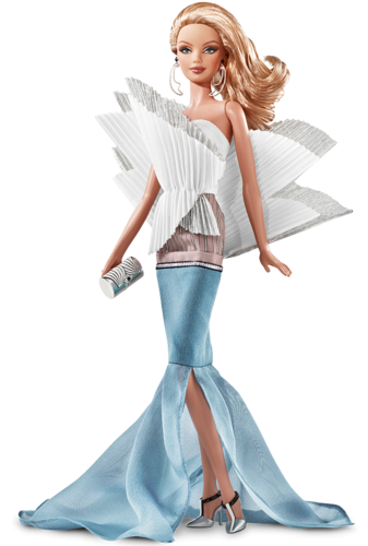 Barbie: Dolls Collection wallpaper probably containing a cocktail dress, a dinner dress, and a gown titled Sydney Opera House Barbie® Doll 2011