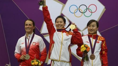Sylwia Bogacka won the silver medal!
