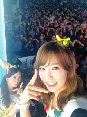 Taeyeon & Seohyun Selca