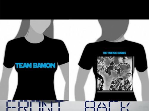 Team Bamon рубашка Дизайн 1