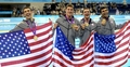 Team USA Wins gold at the men's 4x200-meter freestyle relay - the-olympics photo