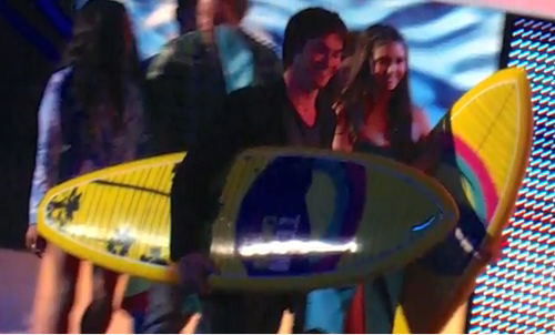 Teen Choice Awards 2012 Behind the Scenes