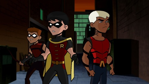The Brave and the Bold and the Young Justice