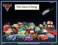 The Cars 2 Gang - disney-pixar-cars-2 fan art