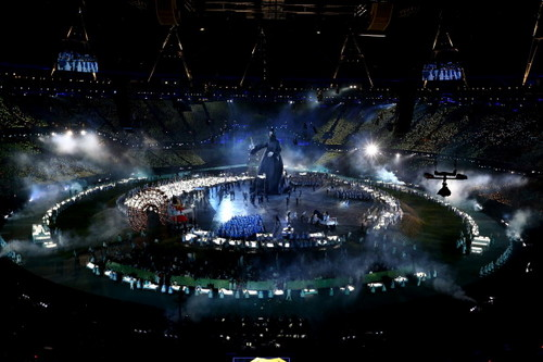 The Dark Lord at 2012 Londres Olympics