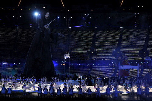The Dark Lord at 2012 London Olympics