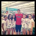 The Fab Five with Michael Phelps