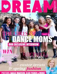 Dance Moms پیپر وال with عملی حکمت titled The Girls in Dream Magazine