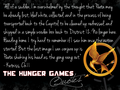 The Hunger Games nukuu 141-160