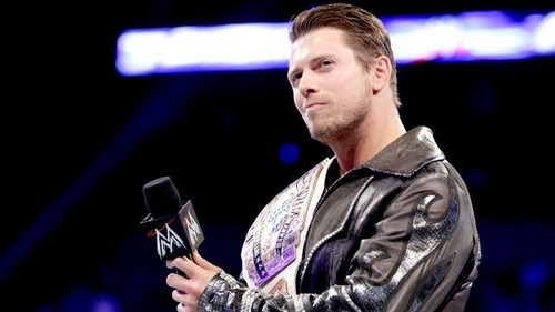 The Miz vs Chistian (IC title)