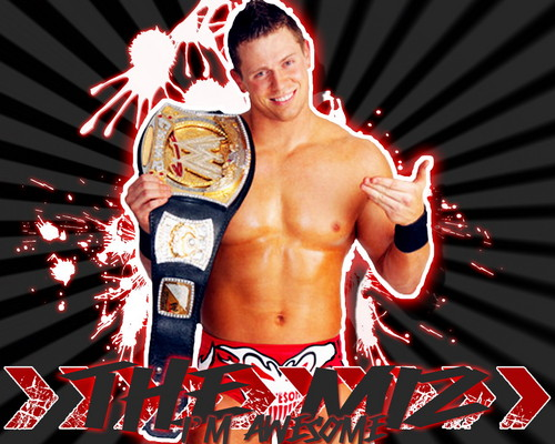 WWE wallpaper titled The Miz