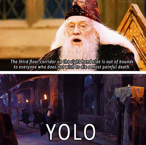 The Only Time YOLO is Acceptable - harry-potter-vs-twilight Photo
