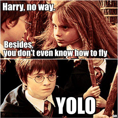 The Only Time YOLO is Acceptable