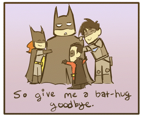 Young Justice OC'S!!! 바탕화면 containing 아니메 entitled The REAL Goodbye to Batman...