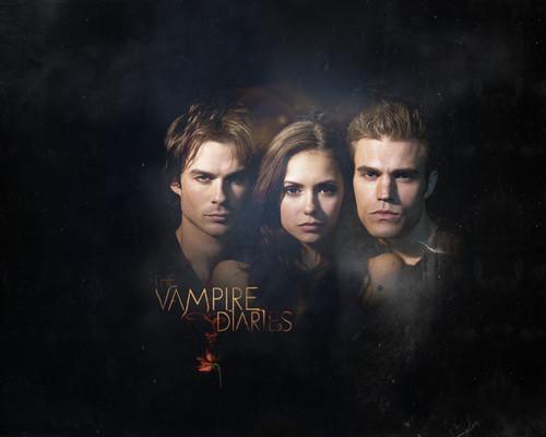 The Vampire Diaries uithangbord