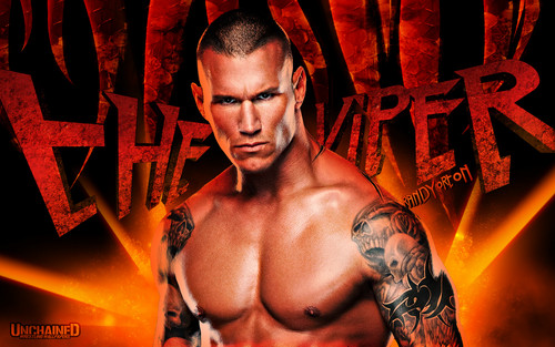 Randy Orton Wallpaper Probably Containing A Hunk Entitled The Viper