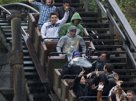 The Wanted At Disneyland Paris