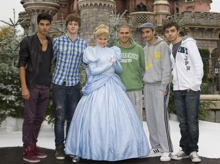 The Wanted At Disneyland Paris
